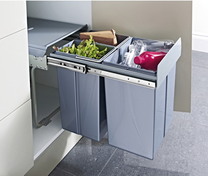 Integrated Kitchen Bin