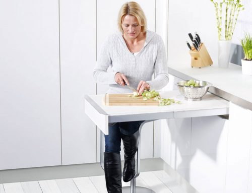 Free Pull-Out Work Top With Your New Kitchen